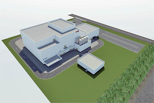 新工場完成イメージ図