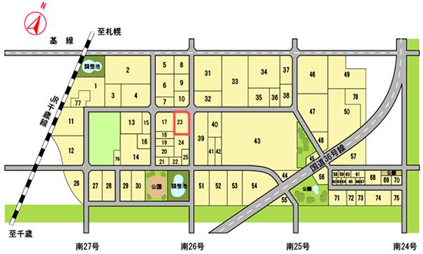 株式会社丹波屋の立地区画