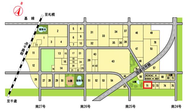 株式会社ティーアール・ネットサービの立地区画